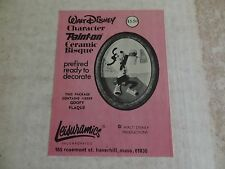 Vintage Walt Disney Goofy Character Ceramic Bisque 8029 Ready to Decorate!