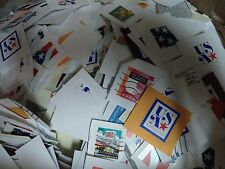 5 POUND BULK PREPAID NON PROFIT US STAMPS GREAT UNSORTED VARIETY CLEAN ON PAPER