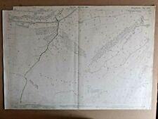 Old Antique Ordnance Map 1901 Montgomeryshire XXVII.5 Tafolwern Llanbrynmair