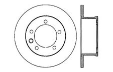 Centric Parts 125.35070 Rear Premium Brake Rotor