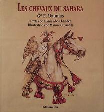 Les chevaux du Sahara - Général E. Daumas