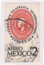 (MCO-406) 1968 Mexico 2p EFIMEX 68 used (B)