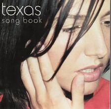 TEXAS - SONG BOOK CD ALBUM 16 TRACKS 2000