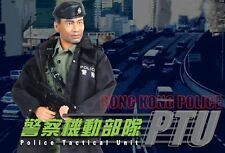 "Dragon 1/6 Scale 12"" Hong Kong Police Tactical Unit PTU Sergeant. Wah 72045"
