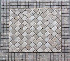 "24""x24"" Backsplsh Marble Tile Mosaic Medallion Design Stone 24""x24"" #80a"