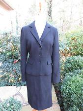 GERARD DAREL Black Cocktail Skirt Suit Desk to Dinner Size 38 6  MINT AUTH