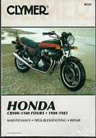 1980-1983 CLYMER HONDA CB900-1100 FOURS SERVICE MANUAL NEW  M325