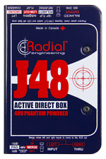 Radial J48 Active DI for acoustic guitar & bass, BEST OFFER R022
