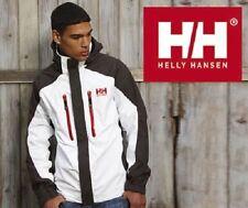 Chicos Helly Hansen Belfast Impermeable Chaqueta - 16 Años-white/ebony-Helly Tech.