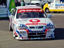 PHOTO  THRUXTON REVIVAL 19.4.14  GRAEME DODD'S NISSAN PRIMERA SUCCESSFULLY MANOE