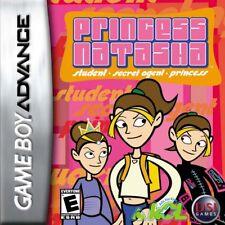 Princess Natasha Student Secret Agent Princess GBA New Game Boy Advance