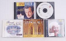 CD Sammlung 5x Klassik, Symphony, Bachakademie,Tausend und eine Nacht, Strauss..