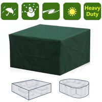 Garden Patio Furniture Set Cover Seat Waterproof Patio Rattan Cube Table