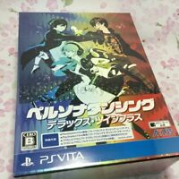 Persona Dancing Deluxe Twin Plus Limited IMPORT PS VITA JAPAN Edition