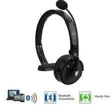 New Bluetooth Noise-Canceling Over Head Boom Mic Headset For Trucker Driver K3D7