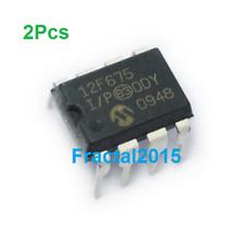 2pcs PIC12F675-I/P 12F675 PIC12F675 DIP-8