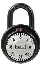 Single Dial Combination Padlock ABUS 78/50 50mm 3 Digit Open Shackle