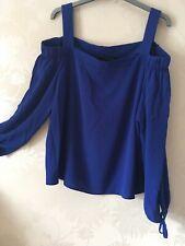 Primark Ladies Cobalt Blue Blouse Size 16