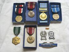 L@@K! Excellent US Army Original WWII thru Korean War  Enlisted Man's Medals