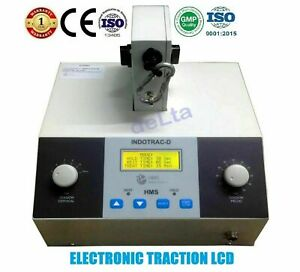 Lumbar & Cervical Traction Unit INDOTRACT LCD CE Traction Device Electrical Unit