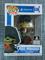 Higgs Monaghan PlayStation FUNKO POP VINYL NEW in BOX