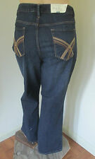NWT Womens Denim Jeans 24W Short SONOMA Mid Rise Demi Boot Cut Stretch