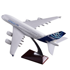 45cm A380 Airbus Airlines Aeroplane Plane Model Airways Diecast with Stand