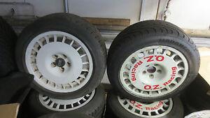 Satz OZ Racing Felge Lancia Integrale Evo OZ Ruote 7,5x15 ET37 Rally