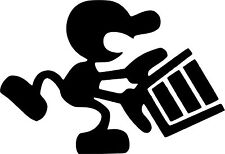 PEGATINA - STICKER - Mr. GAME WATCH - ARCADE - BARTOP - NINTENDO RETRO - MOD 2