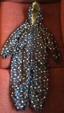 Blue Zoo waterproof dinosaur packaway zip-up suit