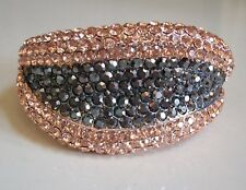 Dressy Lips Shape Rhinestone Party Wear Lady's Fashion Bracelet