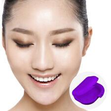 Lot de 2 Bo?te Pot pour Dentier Orthèse Soin Dentaire Santé Beauté