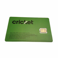 Cricket 4G LTE SGMN4004 Nano SIM Card for Activation