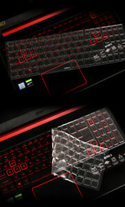 Laptop Clear Tpu Keyboard cover For Acer Nitro AN515-54/Helios PH317-53/PH315-52