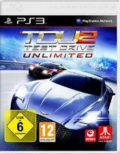 PlayStation 3 Test Drive Unlimited 2 tdu2 alemán como nuevo