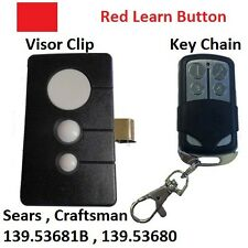 Sears Craftsman 139.53681B Garage Door Opener Remote Transmitter Set 139.53680