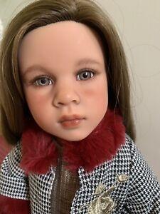 Gotz Happy Kidz Emilia Doll OOAK with artist face up by Michelle Olrich