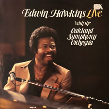 EDWIN HAWKINS WITH THE OAKLAND SYMPHONY ORCHESTRA - Edwin Hawkins Live (LP)