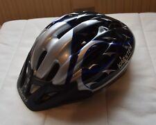 Kinder Fahrrad Helm | Schwarz, Silber