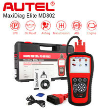 Autel MaxiDiag Elite MD802 OBD2 Code Scanner Tool ABS SRS EPB OIL RESET DS Model