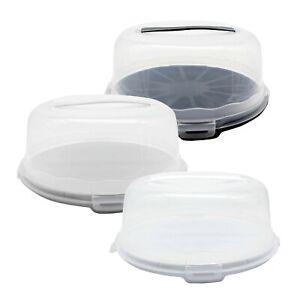 Tortenbehälter Kuchenbehälter Tortenhaube Kuchenhaube Kuchen Torten Box Behälter