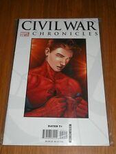 CIVIL WAR CHRONICLES #2 MARVEL COMICS
