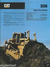 Equipment Brochure - Caterpillar - D8N - Track-Type Tractor - 1990 (E2463)