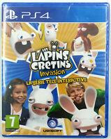 Les Lapins Crétins Invasion - Jeu PS4 - Neuf sous blister - FR