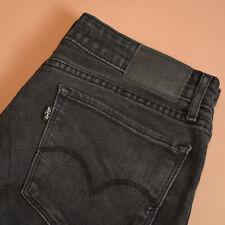 Levi 711 Jeans Skinny Leg Zip Fly Blue Vintage Women's (LabelW29) W 29 L 32