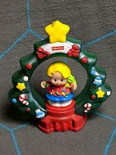 Fisher Price Little People Christmas Ornament 1999