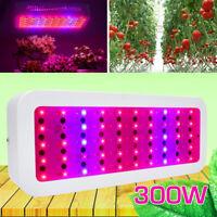 300W LED Grow Lampe Vollspektrum Wachsen Licht für Blumen Innenanlagen Pflanzen