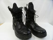 Goretex STC Army style combat  Leather Nylon Boots Vibram soles Made in Canada 9