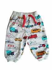 100 % COTTON CAR DESIGN KIDS BOYS  JOGGING BOTTOMS 1 2 3 4 5 6 years FREE P&P