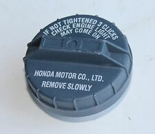 OEM Genuine Honda Gas Fuel Filler Cap / gray
